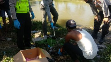 Photo of Orok Bayi Sudah Busuk Ditemukan Warga di Saluran Irigasi Batujai Loteng