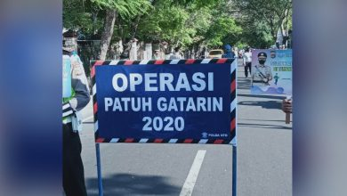 Photo of Operasi Patuh Gatarin 2020 Polda NTB, Laka Lantas di Massa Pandemi Covid-19 Turun