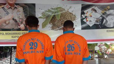 Photo of Lolos dari X-ray Bandara, Dua Sindikat Sabu asal Aceh Diringkus Polisi di Lombok