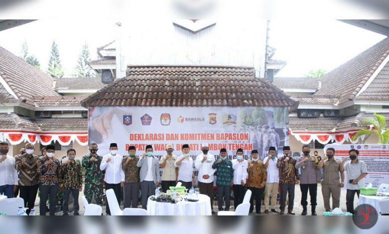 Deklarasi dan Komitmen Bapaslon Kepala Daerah Loteng | Talikanews.com