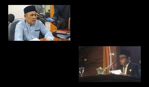 H Muhammad Jamuhur dan Akhdiansyah saling saut   Talikanews.com