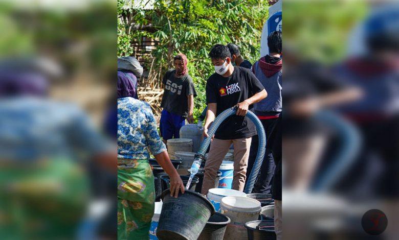 HBK Salurkan Bantuan Air Bersih ke Warga Terdampak Kekeringan