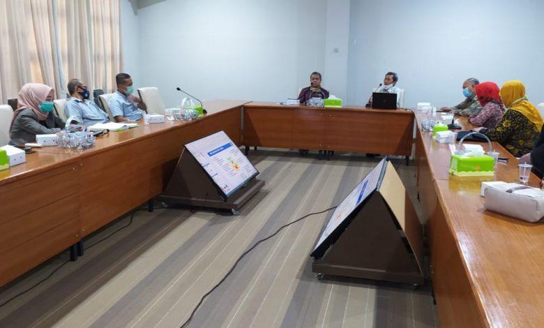 JAJAKI : Terlihat pihak Lembaga Penjaminan Mutu dan Pengembangan Pendidikan Unram dan Badan Penjaminan Mutu (BPM) Unizar Mataram saling jajaki terkait kualitas pendidikan | Talikanews.com