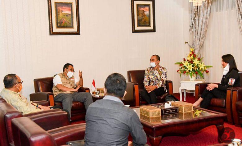 Metro TV Bertemu Gubernur NTB | talikanews.com