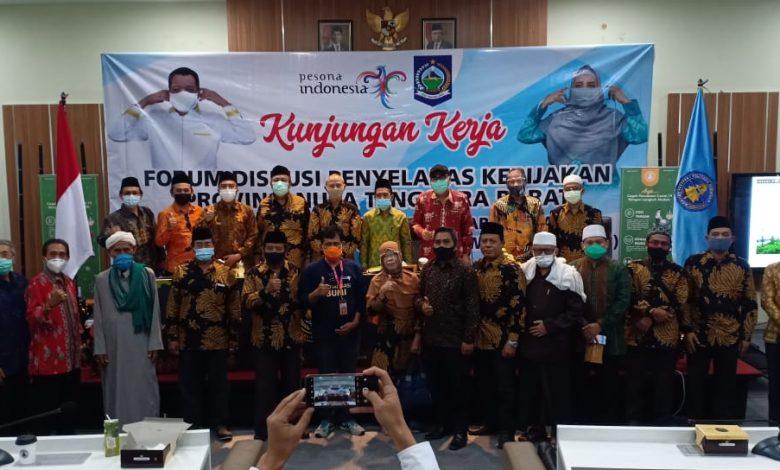 KUNJUNGAN KERJA : Poltekpar Lombok, saat menerima kunjunga kerja tokoh agama, tokoh masyarakat dan akademisi | Talikanews.com