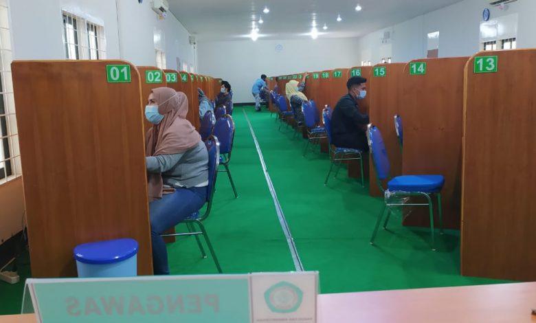 Suasana Ruang CBT Centre Kampus Unizar Mataram   Talikanews.com