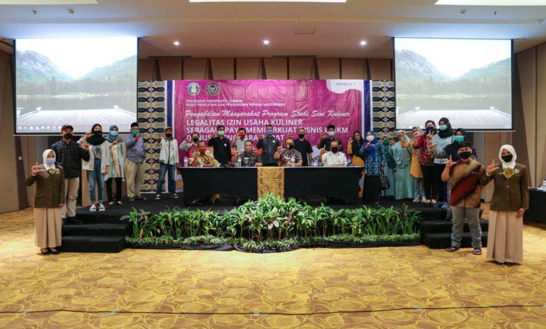 Poltekpar Lombok Menyelenggarakan Workshop Legalitas Izin Usaha Kuliner untuk Bisnis UMKM