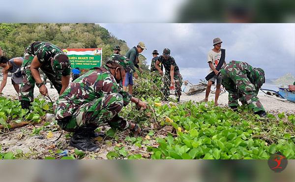 Aksi Bersih Pantai Selong Belanak | Talikanews.com
