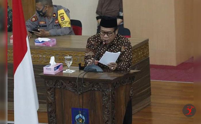 Bupati Loteng Sampaikan Arah Kebijakan APBD TA 2021 | Talikanews.com