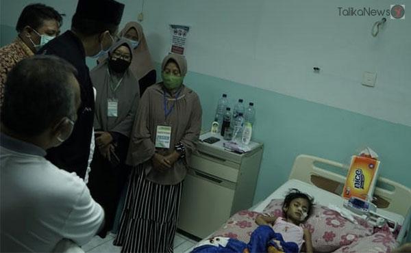 Gubernur Jenguk Aisyah   TalikaNews.com