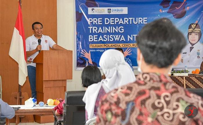 Gubernur Terbangkan 39 Pemuda NTB ke Eropa dengan Beasiswa | Talikanews.com