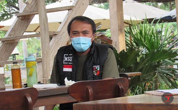 Ketua Pemuda Pancasila Loteng, M Samsul Qomar   Talikanews.com
