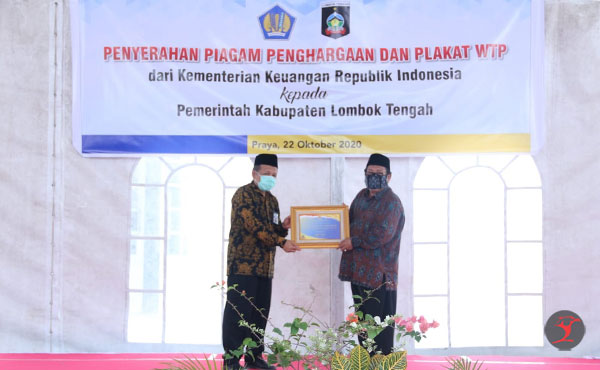 Piagam Penghargaan WTP Delapan Kali Berturut-Turut | talikanews.com