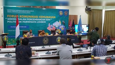 Photo of Poltekpar Lombok Bersinergi Tingkatkan SDM melalui Forum Komunikasi Kehumasan