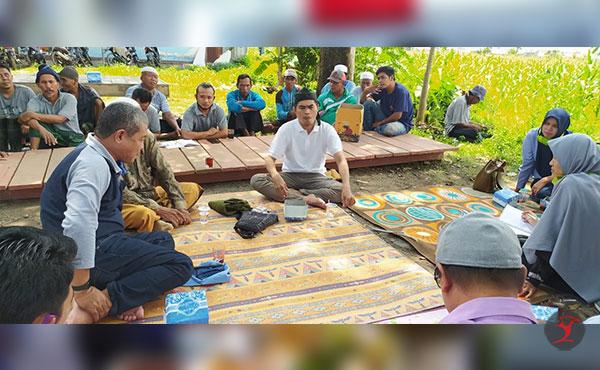 Unizar Serap Aspirasi Petani Desa Dasan Geria   Talikanews.com