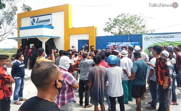 Warga Batunyala Minta Pabrik Bata Tutup Permanen   TalikaNews.com