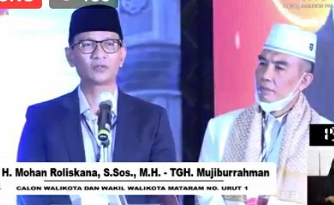 H Mohan Roliskana dan TGH Mujiburahman