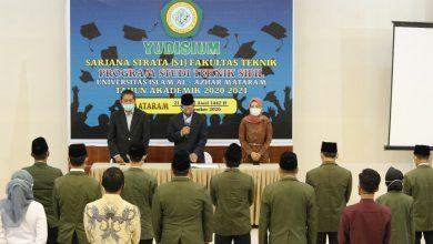 Photo of Sebanyak 30 Mahasiswa Fakultas Teknik Unizar Selesaikan Jenjang Strata Satu, Ini Pesan Dekan