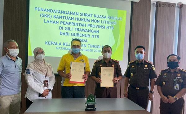 Pemprov NTB Tertibkan Aset di Gili Trawangan | TalikaNews.com