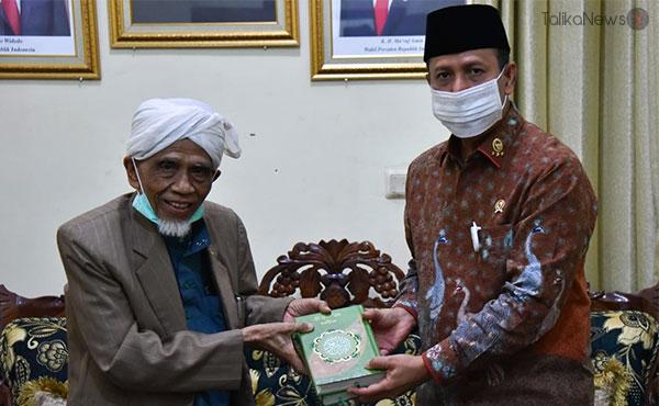 Tuan Guru Bagu dan Rektor UNU NTB | TalikaNews.com