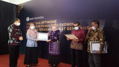 """Photo of DPMPTSP NTB terima Penghargaan """"Mitra Terbaik"""" dari Bank Indonesia"""