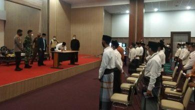 Photo of Calon Kepala Desa di Lombok Tengah membuat Pernyataan patuh ProKes dan Pilkades Damai