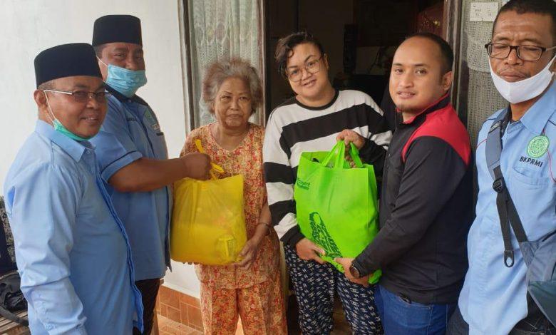 BKPRMI serahkan Bantuan dari Kabaharkam Polri untuk Ringankan Beban Korban Banjir Banjarmasin