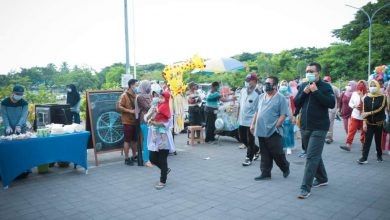 Photo of Didampangi Bupati Lombok Tengah, Gubernur NTB Hadiri Hari Bebas Kendaraan Bermotor, Geliat UKM Luar Biasa