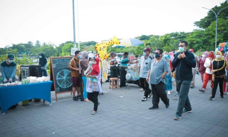 Bupati Lombok Tengah, Gubernur NTB Hadiri Hari Bebas Kendaraan Bermotor