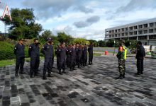 Photo of Bentuk Disiplin dan Loyalitas BKD Kuta Lombok, Babinsa Ini berikan Pelatihan PBB