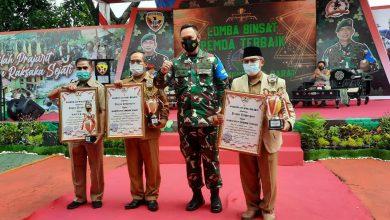 Photo of Dukung Tugas TNI-Polri dalam Menjaga Kamtibmas dan TMMD, Pemda Loteng Diberikan Penghargaan