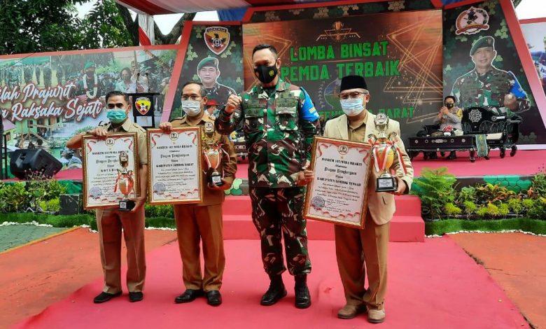 Dukung Tugas TNI-Polri dalam Menjaga Kamtibmas dan TMMD, Pemda Loteng Diberikan Penghargaa
