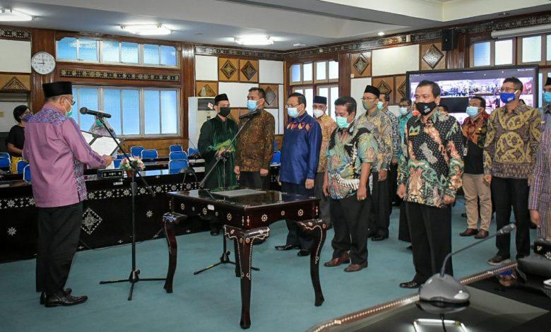 Gubernur NTB Merombak 131 Pejabat Dimasa Pandem Covid-19, Sebanyak 18 Eselon II