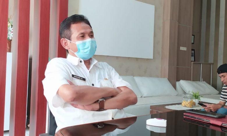 Kepala Dinas LHK NTB H Madani Mukarom Hibah Yayasan Sinergi Capai Rp 500 Juta