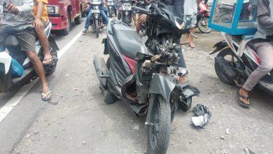 Photo of Honda Vario dan Dum Truk Adu Jotos di Kopang, Seorang Pelajar Langsung Meninggal, Supir Melarikan Diri