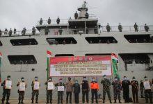 Photo of Pasukan Zeni Satgas Rehab Rekon RTG NTB Dipulangkan ke Satuannya melalui Dermaga Gili Mas