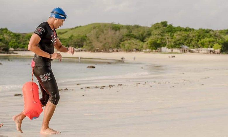Pastikan Event Olahraga Triahtlon, Sandi Uno Jelajah Laut Tanjung Aan Lombok