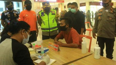 Photo of Cegah Penyebaran Covid-19, Polresta Mataram Gelar Rapid Antigen Massal di Epicentrum Mall