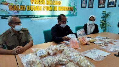 Photo of BPOM Mataram Temukan Terasi dan Makanan Mengandung Boraks dan Rhodamine Beredar di Pasaran