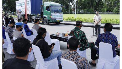 Photo of Gubernur NTB Lepas Keberangkatan Bantuan Kemanusian para Darmawan Lombok- Sumbawa ke Sulawesi Barat