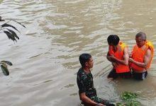 Photo of Koramil 1620-08/Pratim Turun Tangan Mencari korban Tenggelam, Ditemukan Meninggal Dunia