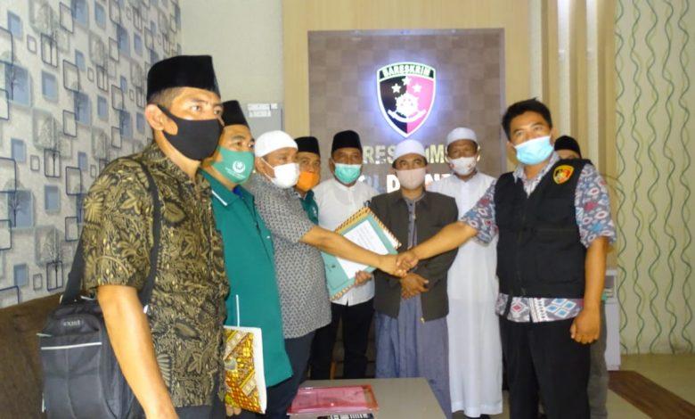 PBNW Anjani Laporkan Panitia Pelantikan NW Lobar dan Lotim ke Polda, H Rijal Mahalli Berargumen Sendiri