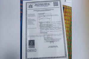 Surat Ijin Usaha Perdagangan UD. Mawar Putra