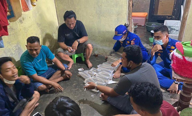 Penyelundupan 3800 Benur Lobster di Binuangan Banten Digagalkan Anggota KP Sanjaya-7017