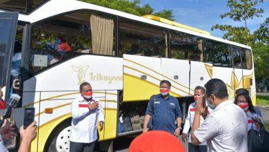 Photo of Gubernur NTB Sambut Kepulangan Puluhan Calon Pekerja Migran Perempuan