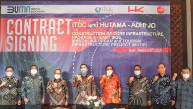 Photo of ITDC dan JO HUTAMA-ADHI, tandatangani Kontrak Pekerjaan Konstruksi Area Timur The Mandalika sebesar Rp1,7 Triliun