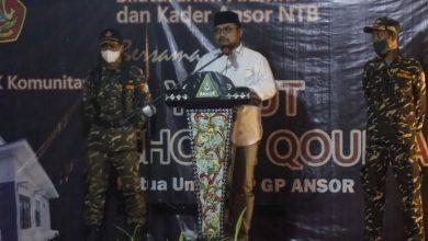 Photo of Menteri Agama Resmikan Balai Latihan Kerja Inovasi GP Ansor di Desa Bonder