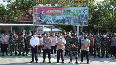 Photo of Percepat Pembangunan RTG, Kodim Loteng Gelar Apel Gabungan Fasilitator