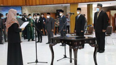 Photo of Lantik Sembilan Pejabat Eselon II, Wagub NTB Sebut APBD Terbatas