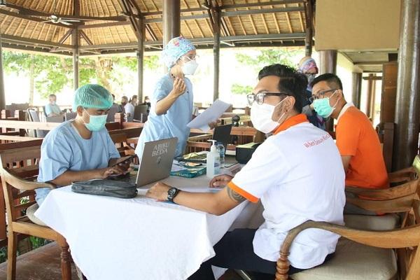 Tak Mau Disalahkan terkait Vaksinasi Pelaku Pariwisata, Dinkes NTB Ada Giliran, Mulai dari Kila Hotel Senggigi